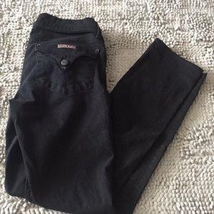Low rise Hudson skinny jeans